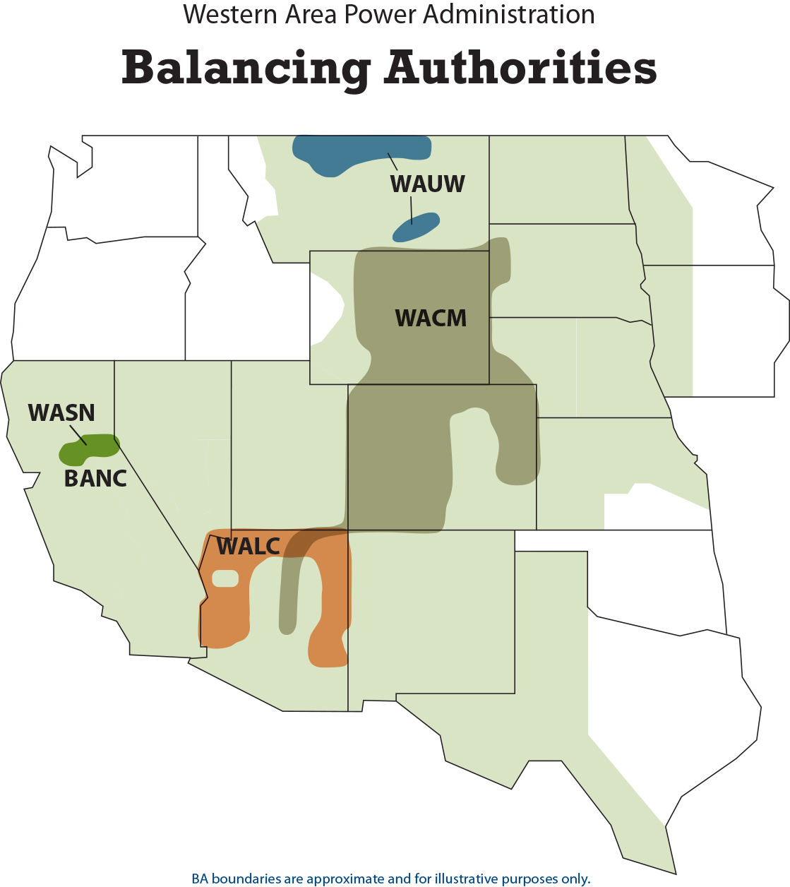 WAPA Balancing Authorities