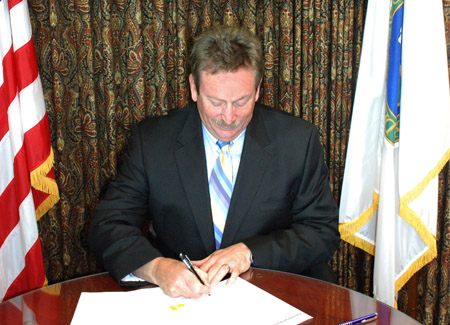 WAPA Administrator Mark Gabriel signs memo approving and directing