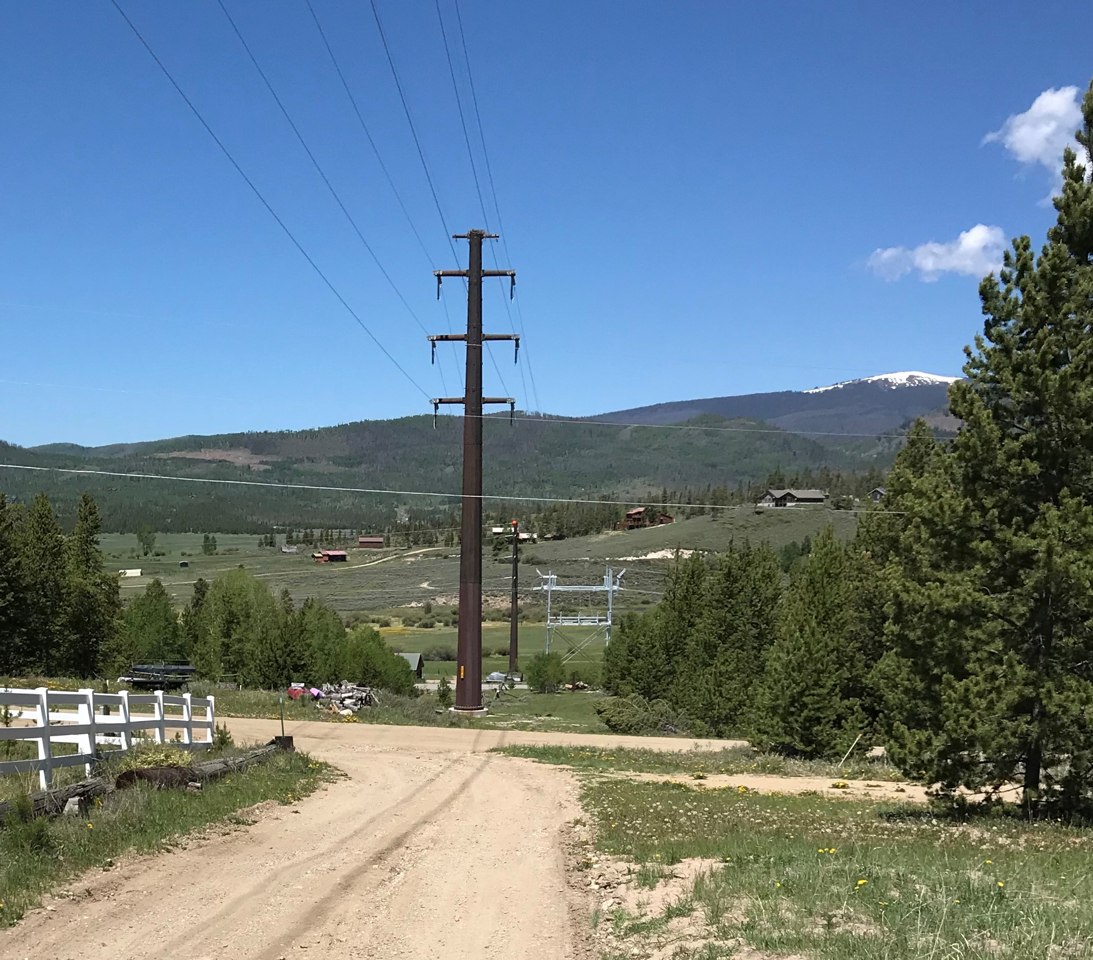 Granby-Windy Gap transmission line